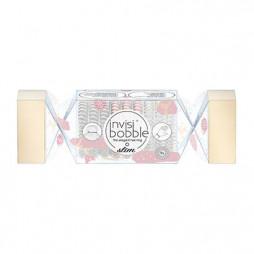Подарочный набор резинок invisibobble Slim Trio Cracker That's Crackin Розовый//Прозрачный/Серебряный 9 шт 3174