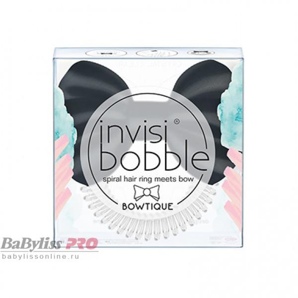 Резинка-браслет для волос invisibobble Bowtique True Black Прозрачный/Черный 3176