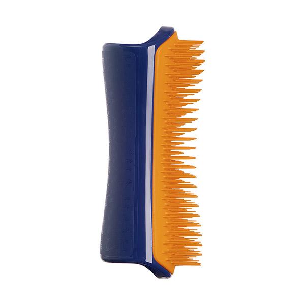 Расческа для распутывания шерсти большая Pet Teezer Detangling & Dog Grooming Brush Navy & Orange ROW-DT-NO-010918