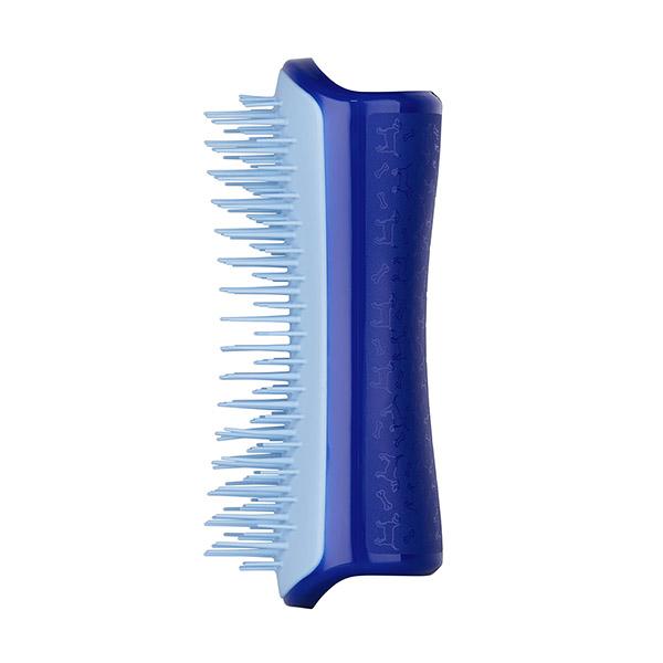 Расческа для вычесывания шерсти малая Pet Teezer Small DeShedding & Dog Grooming Brush Sky Blue ROW-SDS-BLB-010319